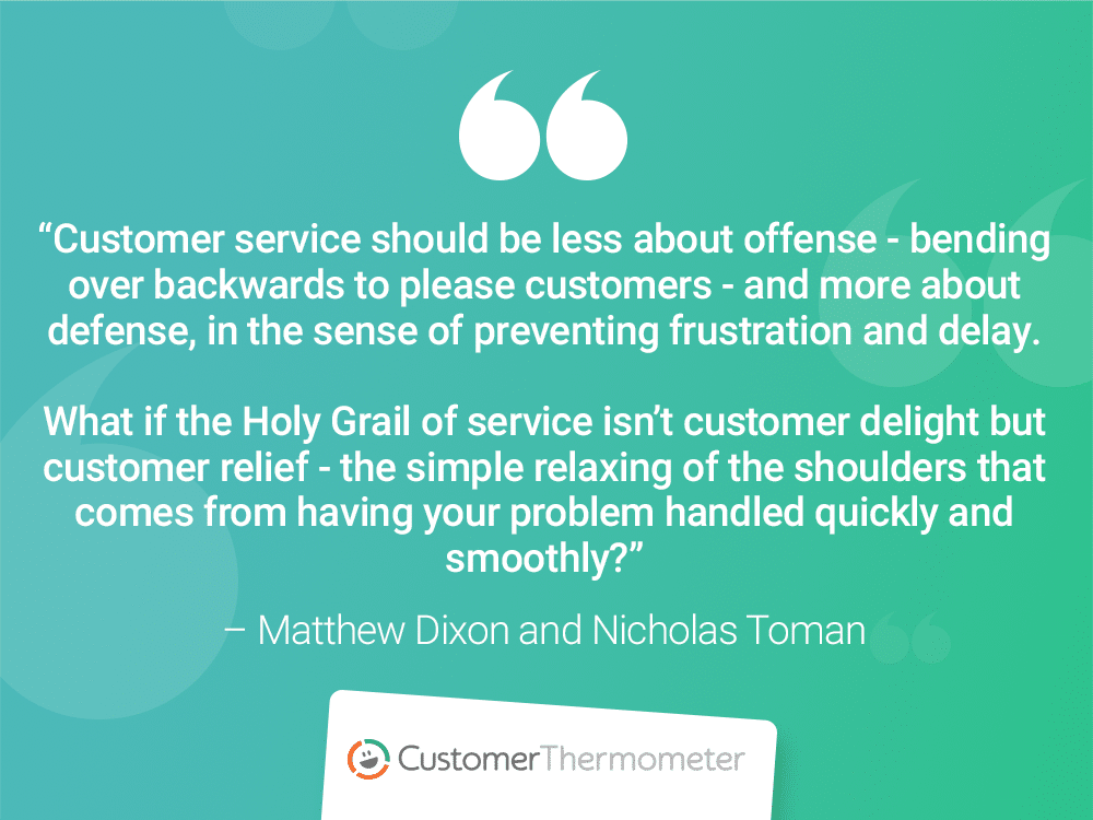 CX Quotes matthew dixon nicholas toman customer thermometer