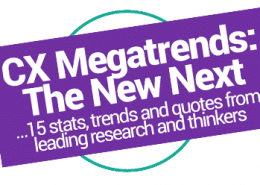 CX pandemic megatrends stats customer behavior