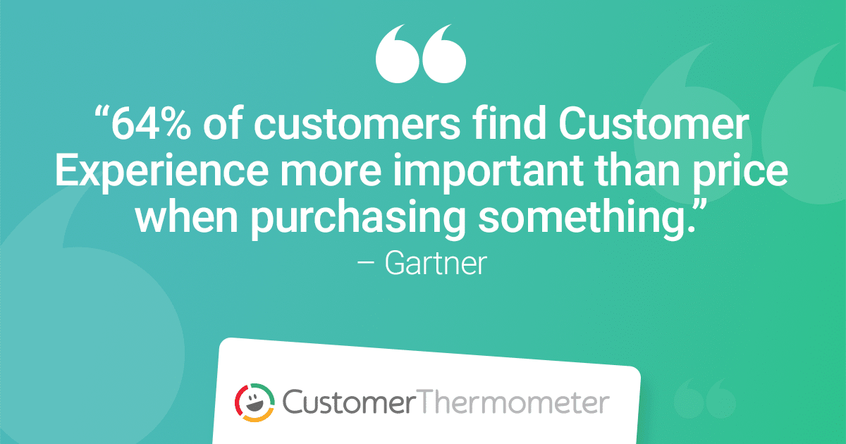 Customer Experience Management Gartner Quote