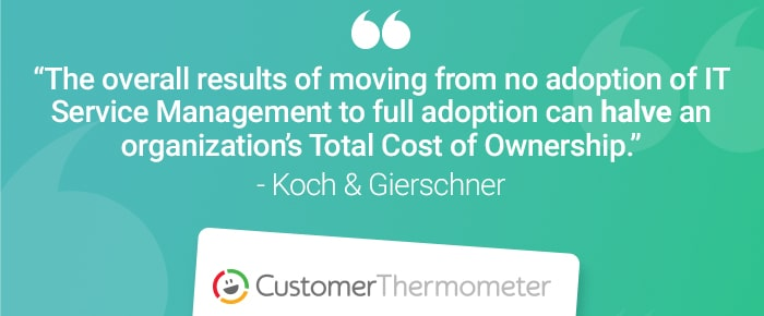 service desk customer thermometer quote koch gierschner
