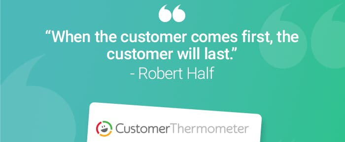 service desk customer thermometer quote robert half