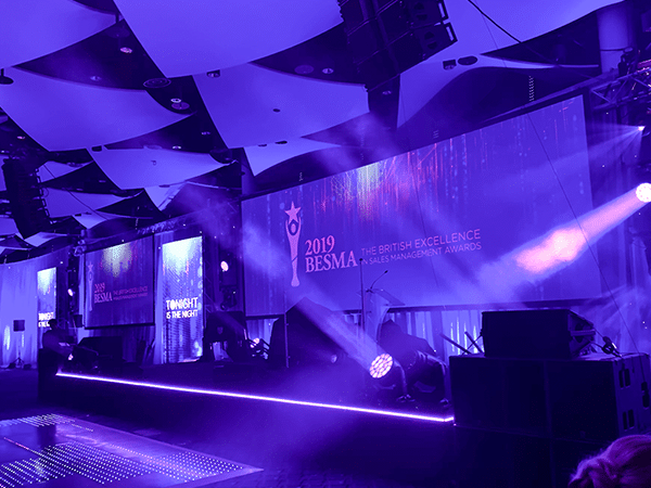 Customer Thermometer BESMA Awards 2019 Ministry of Magic stage