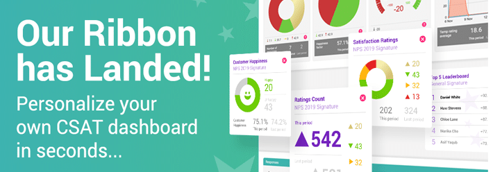 CSAT dashboard customized