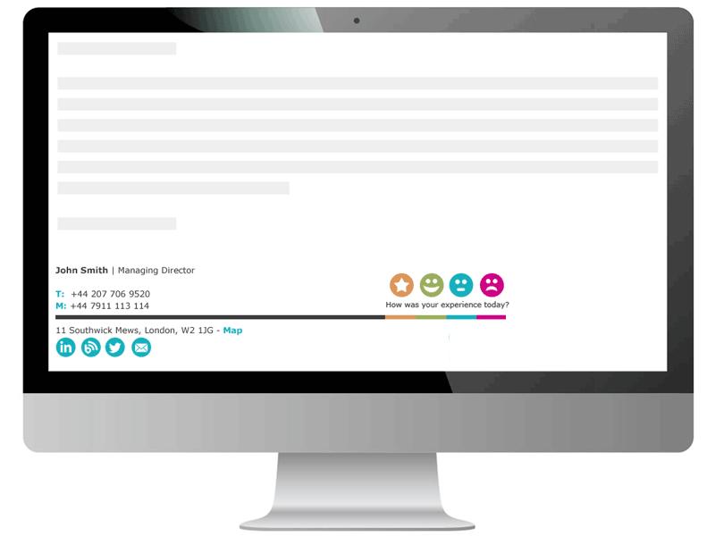 Rocketseed email signature survey
