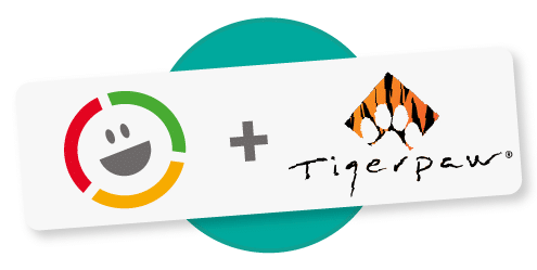 Tigerpaw Customer Thermometer integration