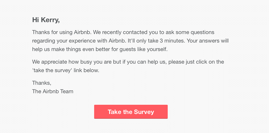 template customer satisfaction survey