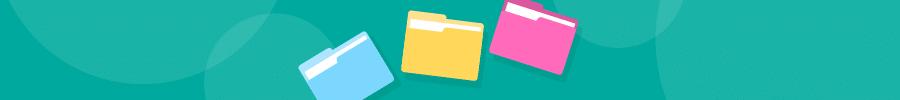 banner folders