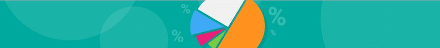 pie chart banner