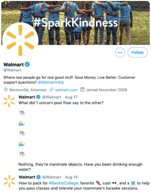 business use in emoji walmart
