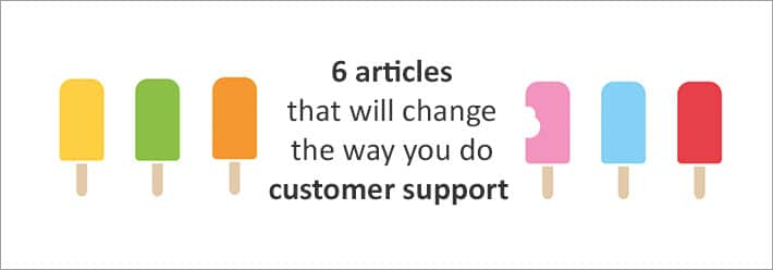 customer support articles