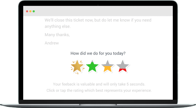 1 Click Email Surveys