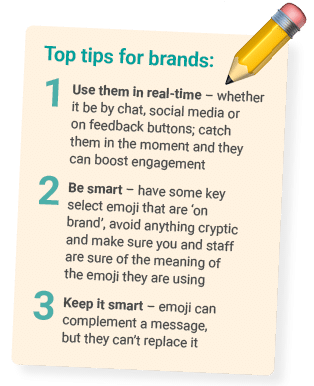 emoji use for brands tips