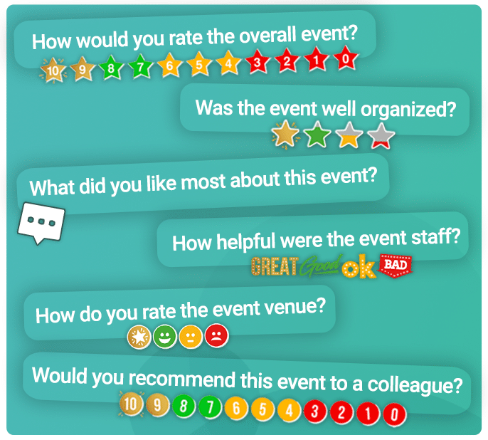 post-event survey question examples
