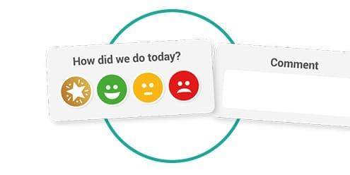 smiley face survey template