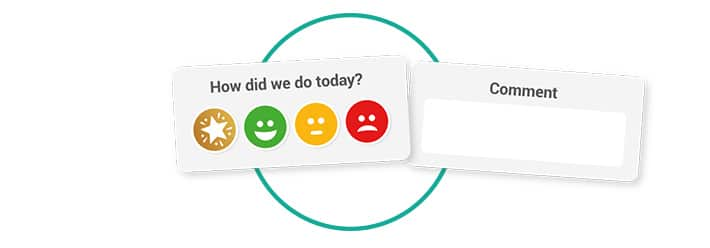 smiley face survey template