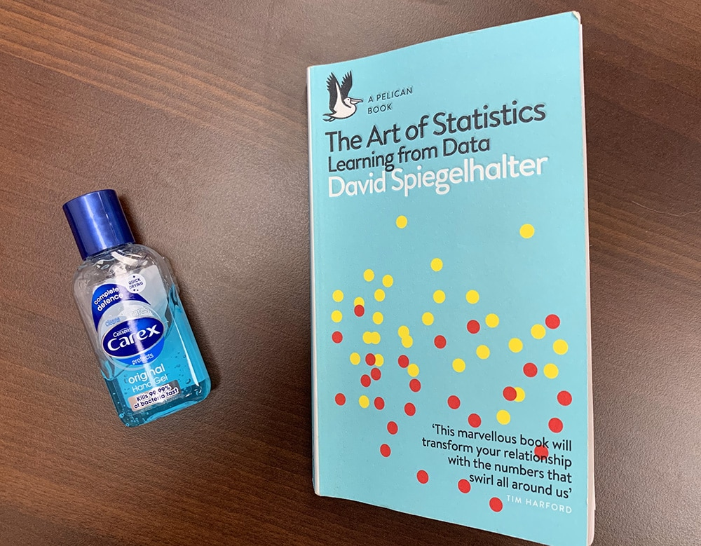David Spiegelhalter The Art of Statistics Learning from Data review