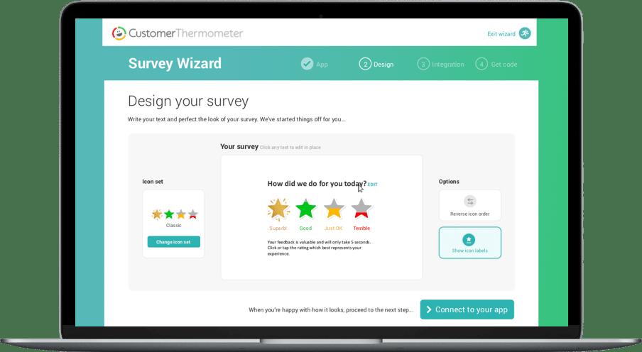 Survey wizard - design your survey