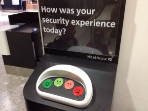 Airport customer satisfaction