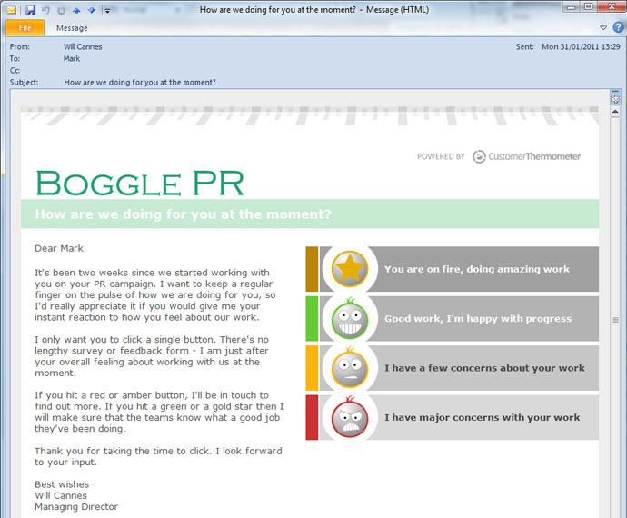 survey creator main email